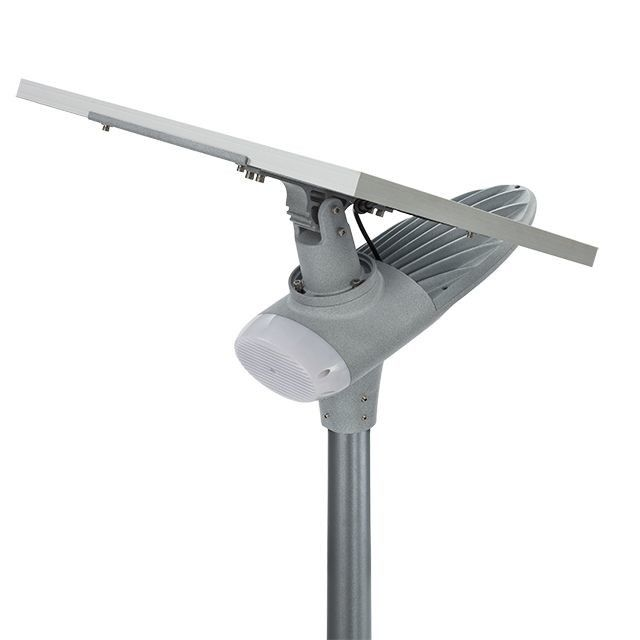 Auto Intensity Control Solar Powered LED Street Lights IP67 Waterproof Wide Lighting Angle