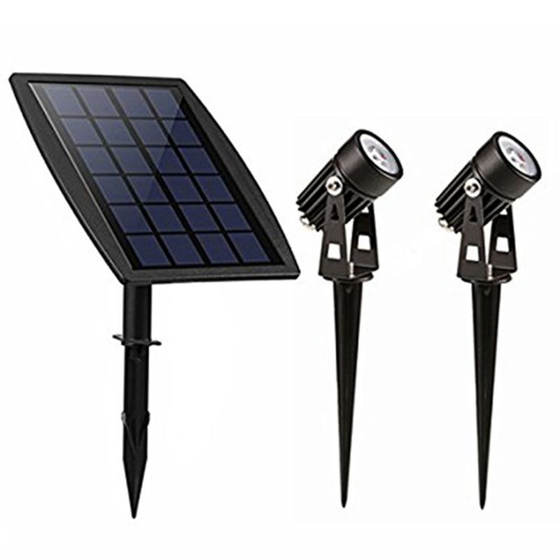 Highly Bright Solar Panel Landscape Lighting For Lawn / Patio / Yard / Walkway