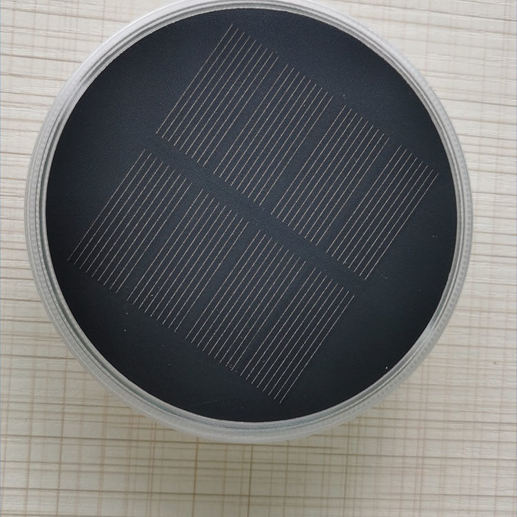 Solar Ground Lights, 8 LED Outdoor Solar Disk Lights, Waterproof In-Ground Lights, Solar Garden Lights, Landscape Lights