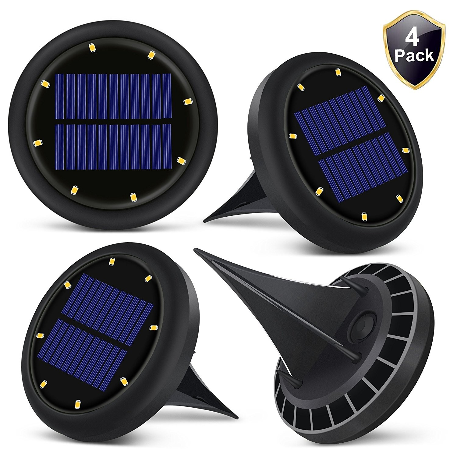 0 07w Solar Powered Led Ground Lights Solar Ground Buried Light Four Colors